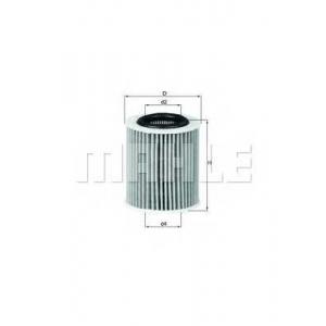 KNECHT OX386D Масляный фильтр