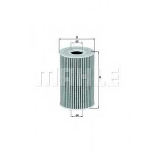 Масляный фильтр ox388d mahle - VW PASSAT (362) седан 1.6 TDI