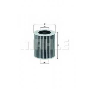 Масляный фильтр ox413d2 mahle - LEXUS IS II (GSE2_, ALE2_, USE2_) седан 200d