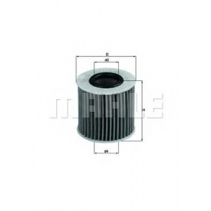 KNECHT OX414D1 Масляный фильтр