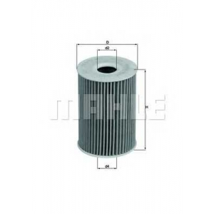 KNECHT OX415D Масляный фильтр