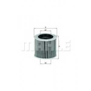 KNECHT OX416D2 Масляный фильтр