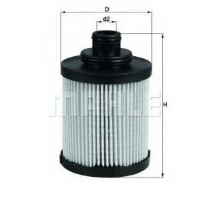 Масляный фильтр ox418d mahle - FIAT PANDA (169) Наклонная задняя часть 1.3 D Multijet 4x4