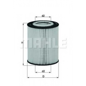 KNECHT OX433D Масляный фильтр