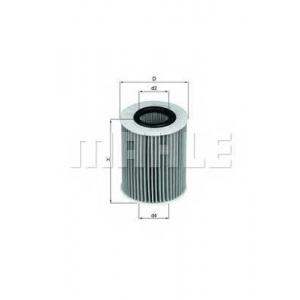 KNECHT OX437D Масляный фильтр