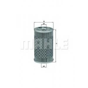 Масляный фильтр ox47d mahle - MERCEDES-BENZ PONTON (W128) седан 220 SE (128.010)