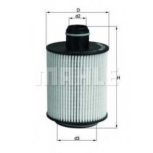Масляный фильтр ox553d mahle - SUZUKI SWIFT IV (FZ, NZ) Наклонная задняя часть 1.3 DDiS