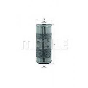 KNECHT OX75D Фільтр масляний