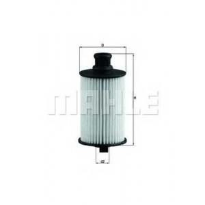 KNECHT OX774D Фільтр масляний