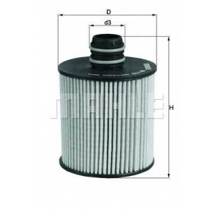 KNECHT OX779D Масляный фильтр