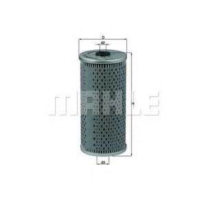 Масляный фильтр ox92d mahle - MERCEDES-BENZ E-CLASS (W124) седан E 420 (124.034)