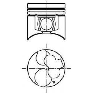 ������� 40054600 kolbenschmidt - MITSUBISHI PAJERO II (V3_W, V2_W, V4_W) �������� �������� 2.8 TD (V46W)