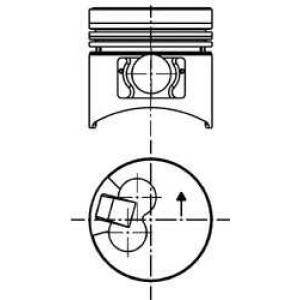 ������� 40058610 kolbenschmidt - MITSUBISHI PAJERO I Canvas Top (L04_G) �������� �������� 2.5 TD (L044G, L049G)