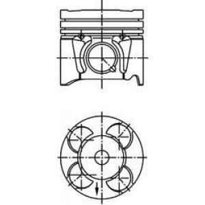 Поршень 1,3TD 16V  03- 40213610 kolbenschmidt -