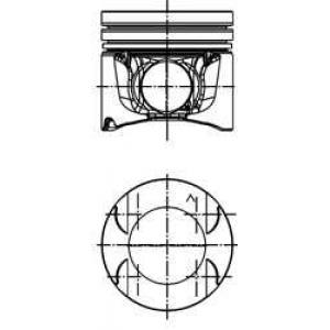 Поршень RENAULT 84,50 2.0 dCi 16V  M9R Euro 4 (пр- 40262620 kolbenschmidt -