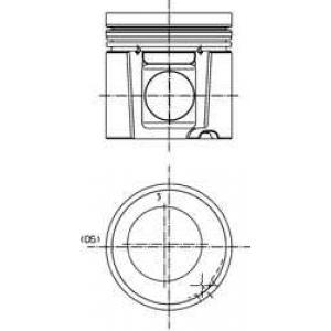 Поршень (BF4/BF6M1013) Euro 2 40278600 kolbenschmidt -