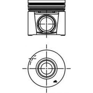 KOLBENSCHMIDT 40285610 Поршень двигателя