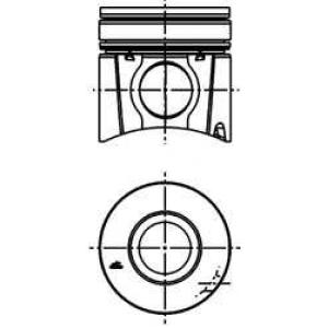 Поршень (F2BE) Euro 2 40316600 kolbenschmidt -