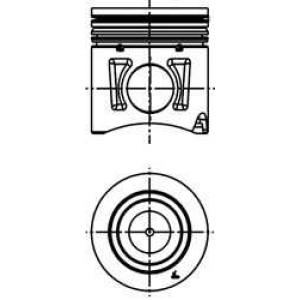 поршень (F3AE) Euro 3 40339600 kolbenschmidt -