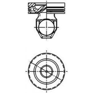 Поршень SCANIA 127.00 DSC12 EURO 2/DC12/16 EURO 3  40368600 kolbenschmidt -
