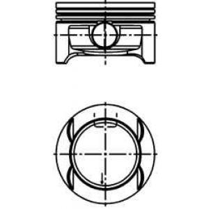 Поршень в комплекте на 1 цилиндр, 1-й ремонт (+0,2 40386610 kolbenschmidt -