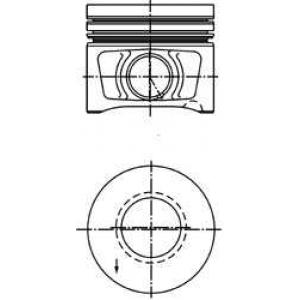 KOLBENSCHMIDT 40387600 Поршень VAG 81.01 BLB/BNA/BRD/BRE 2,0TDI 16V (пр-во KS)