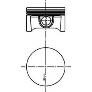 Поршни OPEL 79мм Ref.012  1 00 40388600 kolbenschmidt -