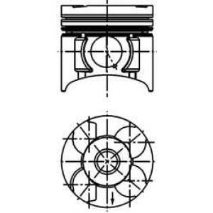 ������� OPEL 79,50 1,7TDi 16V Z17DTL (��-�� Mopart 40390620 kolbenschmidt -