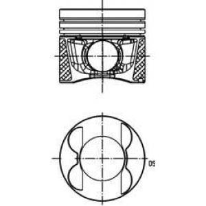 40809620 kolbenschmidt Поршень MERCEDES-BENZ SPRINTER 3,5 c бортовой платформой/ходовая часть 313 CDI 4x4 (906.131, 906.133, 906.135, 906.231...)
