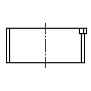 KOLBENSCHMIDT 77088618 Вкладиші шатунні комплект CITROEN/PEUGEOT/RENAULT 1,1-1,4