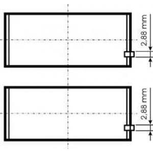 ��������� ���������� PL STD (MIDR06.20.45) 79328600 kolbenschmidt -