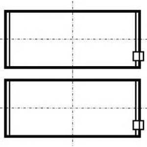 Подшипник скольжения PL STD (4B/6B/BT/BTA) 79331600 kolbenschmidt -