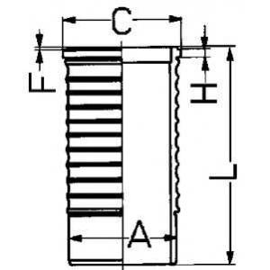 ������ �������� 88568110 kolbenschmidt - SCANIA 3 - series  143 H/400