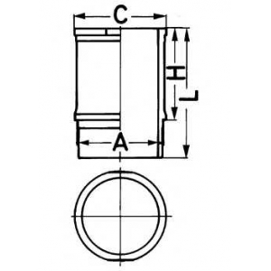 ������ J5R/J6/J7R 2,0/2,2 -96 89334110 kolbenschmidt -
