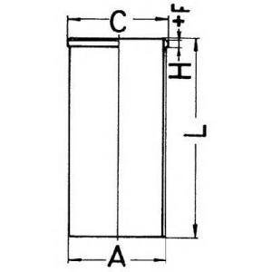 Гильза (T4.40/T6.60) 89527190 kolbenschmidt -