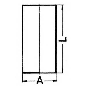 89835190 kolbenschmidt Гильза цилиндра NISSAN X-TRAIL вездеход закрытый 2.2 Di 4x4