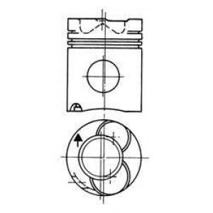 Поршень 90221600 kolbenschmidt - SCANIA 3 - series  93 M/280
