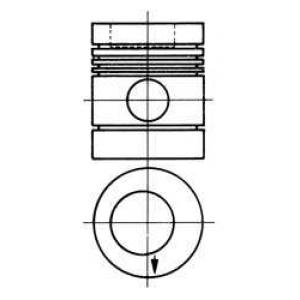 ������� MB 97.0 OM314 (5-RINGS) (��-�� Nural) 90274800 kolbenschmidt -