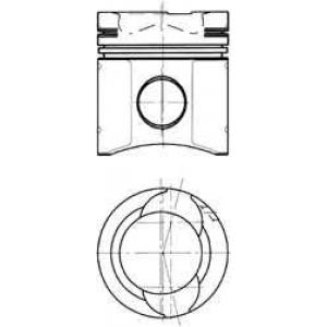 Комплект поршневых колец 90582600 kolbenschmidt -