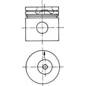 ������� 90624620 kolbenschmidt - LAND ROVER DISCOVERY I (LJ, LG) �������� �������� 2.5 TDI