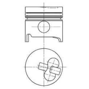 ������� 90739700 kolbenschmidt - TOYOTA HIACE II Wagon (H20) ������� 2.4 D (H5G)