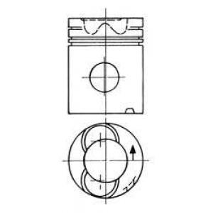 Поршень 90759600 kolbenschmidt - SCANIA 3 - series  113 M/320