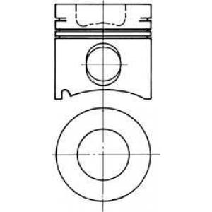 Комплект поршневых колец 91487700 kolbenschmidt -