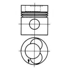 ������� MB 97.5 OM352A (3 ������) (��-�� Nural) 92581610 kolbenschmidt -