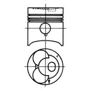92792610 kolbenschmidt Поршень MERCEDES-BENZ /8 седан 220 D (115.110)