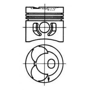 92800620 kolbenschmidt Поршень MERCEDES-BENZ /8 седан 240 D (115.117)