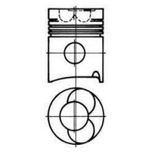 93052600 kolbenschmidt Распредвал RENAULT MEGANE Наклонная задняя часть 1.9 dT (B/SA0K, B/SA0Y)
