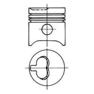 ������� 93625630 kolbenschmidt - FORD GRANADA (GU) ����� 2.5 D