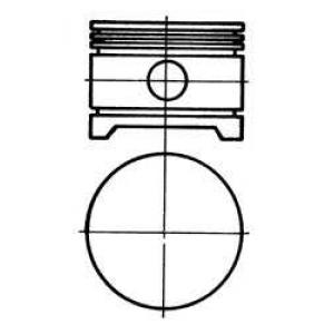 поршень компрессора (D=88мм) 94070700 kolbenschmidt -