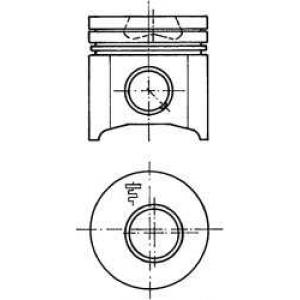 поршень 2,5TD -96 Euro 1 94382630 kolbenschmidt -